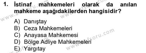 Kalem Mevzuatı Dersi 2012 - 2013 Yılı Dönem Sonu Sınavı 1. Soru