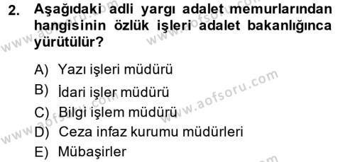 Kalem Mevzuatı Dersi 2013 - 2014 Yılı Ara Sınavı 2. Soru