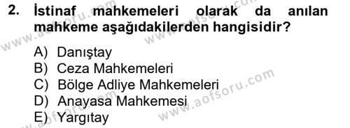 Kalem Mevzuatı Dersi 2013 - 2014 Yılı Dönem Sonu Sınavı 2. Soru