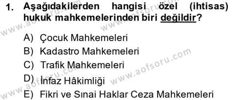 Kalem Mevzuatı Dersi 2014 - 2015 Yılı (Vize) Ara Sınavı 1. Soru