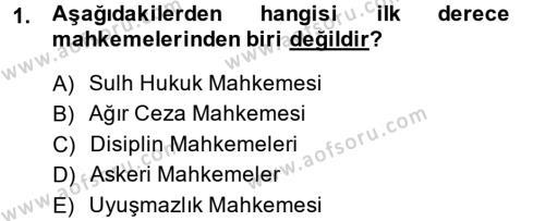 Kalem Mevzuatı Dersi 2014 - 2015 Yılı (Final) Dönem Sonu Sınav Soruları 1. Soru