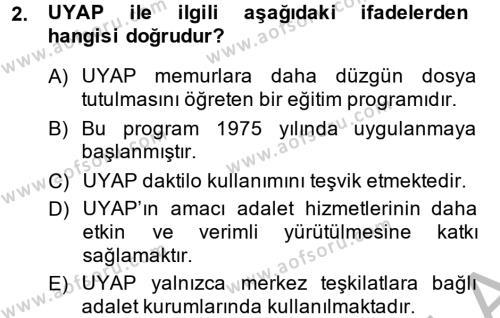 Kalem Mevzuatı Dersi 2014 - 2015 Yılı (Final) Dönem Sonu Sınav Soruları 2. Soru