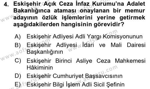 Kalem Mevzuatı Dersi 2015 - 2016 Yılı (Vize) Ara Sınavı 4. Soru