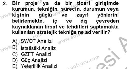 Kültürel Miras ve Turizm Bölümü 2. Yarıyıl Arkeolojik Alan Yönetimi Dersi 2014 Yılı Bahar Dönemi Dönem Sonu Sınavı 2. Soru