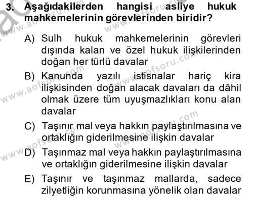 Kamu Özel Kesim Yapısı Ve İlişkileri Dersi 2012 - 2013 Yılı Dönem Sonu Sınavı 3. Soru
