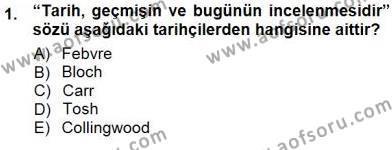 Çalışma İlişkileri Tarihi Dersi 2012 - 2013 Yılı Dönem Sonu Sınavı 1. Soru