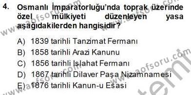 Çalışma İlişkileri Tarihi Dersi 2014 - 2015 Yılı Dönem Sonu Sınavı 4. Soru