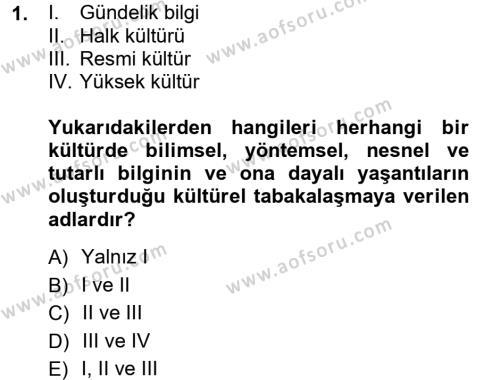 Halk Edebiyatına Giriş 1 Dersi 2012 - 2013 Yılı Ara Sınavı 1. Soru