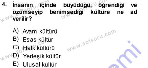 Halk Edebiyatına Giriş 1 Dersi 2013 - 2014 Yılı (Vize) Ara Sınav Soruları 4. Soru