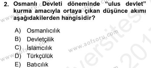 Halk Edebiyatına Giriş 1 Dersi 2016 - 2017 Yılı (Final) Dönem Sonu Sınav Soruları 2. Soru