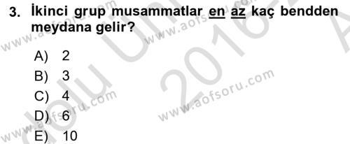 Eski Türk Edebiyatına Giriş: Biçim ve Ölçü Dersi 2016 - 2017 Yılı (Vize) Ara Sınav Soruları 3. Soru