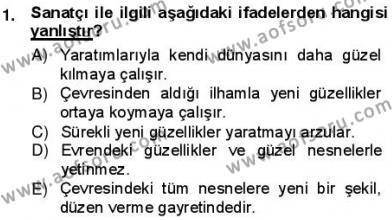 Batı Edebiyatında Akımlar 1 Dersi 2012 - 2013 Yılı (Vize) Ara Sınav Soruları 1. Soru