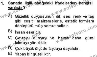Batı Edebiyatında Akımlar 1 Dersi 2013 - 2014 Yılı (Vize) Ara Sınav Soruları 1. Soru