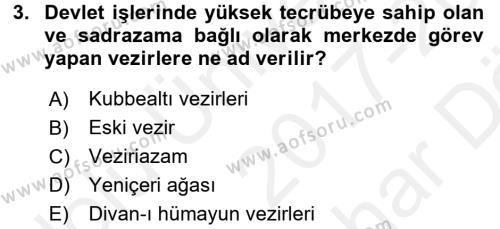 Yeni Türk Edebiyatına Giriş 2 Dersi 2017 - 2018 Yılı (Vize) Ara Sınav Soruları 3. Soru