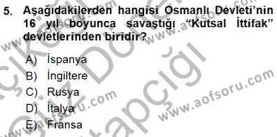 Türk Dili ve Edebiyatı Bölümü 3. Yarıyıl Tanzimat Dönemi Türk Edebiyatı I Dersi 2016 Yılı Güz Dönemi Ara Sınavı 5. Soru