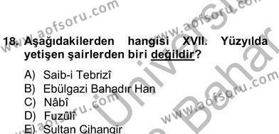 Türk Edebiyatının Mitolojik Kaynakları Dersi 2012 - 2013 Yılı Ara Sınavı 3. Soru