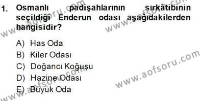 XIX. Yüzyıl Türk Edebiyatı Dersi 2014 - 2015 Yılı (Final) Dönem Sonu Sınav Soruları 1. Soru