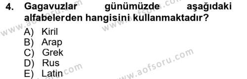 Türk Dili ve Edebiyatı Bölümü 7. Yarıyıl Çağdaş Türk Edebiyatları I Dersi 2013 Yılı Güz Dönemi Dönem Sonu Sınavı 4. Soru