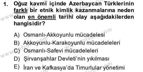 Türk Dili ve Edebiyatı Bölümü 7. Yarıyıl Çağdaş Türk Edebiyatları I Dersi 2014 Yılı Güz Dönemi Tek Ders Sınavı 1. Soru