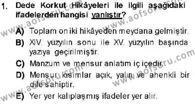Cumhuriyet Dönemi Türk Nesri Dersi 2013 - 2014 Yılı (Vize) Ara Sınav Soruları 1. Soru