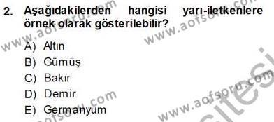 Devre Analizi Dersi 2013 - 2014 Yılı Ara Sınavı 2. Soru
