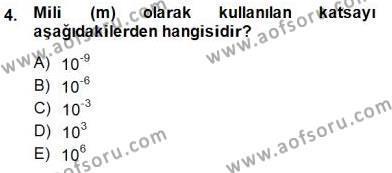 Devre Analizi Dersi 2014 - 2015 Yılı Ara Sınavı 4. Soru
