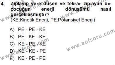 Elektrik Enerjisi Üretim, İletim ve Dağıtımı Bölümü 1. Yarıyıl Geleneksel Enerji Kaynakları Dersi 2013 Yılı Güz Dönemi Ara Sınavı 4. Soru