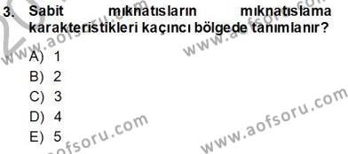 Elektrik Makinaları Dersi 2013 - 2014 Yılı Ara Sınavı 3. Soru