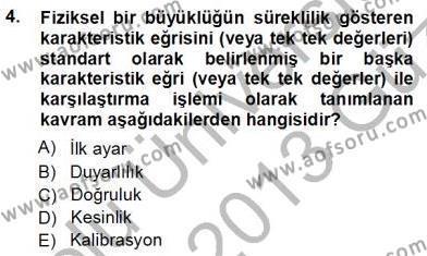 Enerji Analizi Dersi 2012 - 2013 Yılı Ara Sınavı 4. Soru