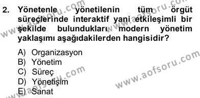 Emlak ve Emlak Yönetimi Bölümü 4. Yarıyıl Bina ve Site Yöneticiliği Dersi 2013 Yılı Bahar Dönemi Ara Sınavı 2. Soru