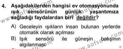 Ev İdaresi Bölümü 2. Yarıyıl İş Etüdü Dersi 2013 Yılı Bahar Dönemi Ara Sınavı 5. Soru