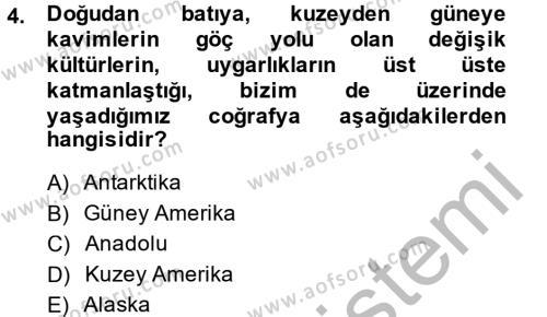 Ev İdaresi Bölümü 2. Yarıyıl Konut Seçimi ve Düzenlenmesi Dersi 2015 Yılı Bahar Dönemi Ara Sınavı 4. Soru