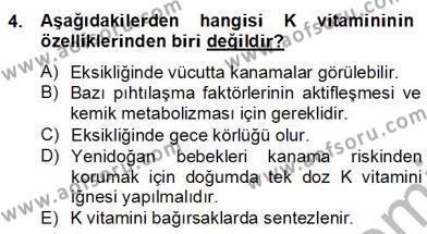 Ev İdaresi Bölümü 2. Yarıyıl Çocuk ve Ergen Bakımı Dersi 2013 Yılı Bahar Dönemi Dönem Sonu Sınavı 4. Soru