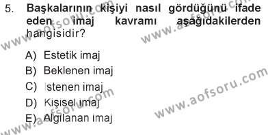 Ev İdaresi Bölümü 3. Yarıyıl Giysi Seçimi Dersi 2013 Yılı Güz Dönemi Tek Ders Sınavı 5. Soru