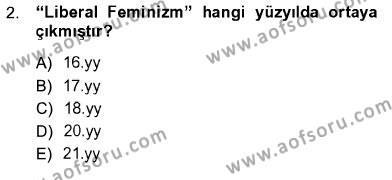 Ev İdaresi Bölümü 3. Yarıyıl Toplumsal Yaşamda Aile Dersi 2013 Yılı Güz Dönemi Ara Sınavı 2. Soru