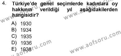 Aile Ekonomisi Dersi 2012 - 2013 Yılı Dönem Sonu Sınavı 4. Soru