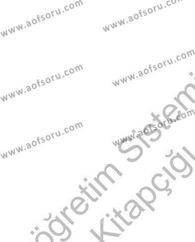 Fotoğrafçılık ve Kameramanlık Bölümü 4. Yarıyıl Fotoğraf ve Video Proje Geliştirme Dersi 2013 Yılı Bahar Dönemi Ara Sınavı 4. Soru