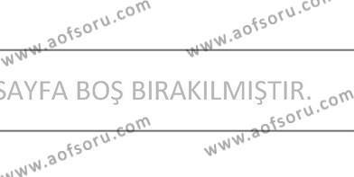 Fotoğrafçılık ve Kameramanlık Bölümü 4. Yarıyıl Fotoğraf ve Video Proje Geliştirme Dersi 2013 Yılı Bahar Dönemi Ara Sınavı 5. Soru