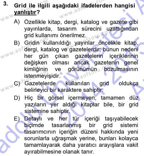 Halkla İlişkiler Uygulama Teknikleri Dersi 2014 - 2015 Yılı Ara Sınavı 3. Soru