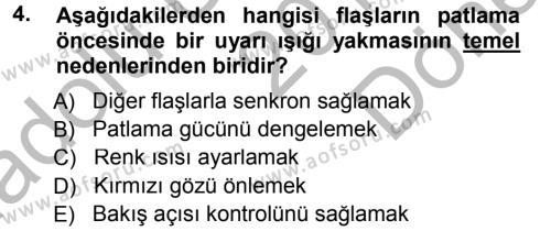 Halkla İlişkiler Uygulama Teknikleri Dersi 2014 - 2015 Yılı Dönem Sonu Sınavı 4. Soru