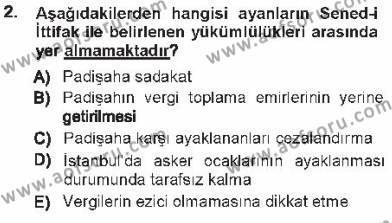 Türk Anayasa Hukuku Dersi 2012 - 2013 Yılı Tek Ders Sınavı 2. Soru