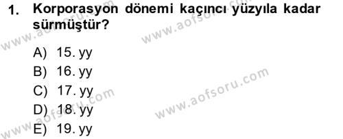 İş Ve Sosyal Güvenlik Hukuku Dersi 2013 - 2014 Yılı Dönem Sonu Sınavı 1. Soru