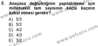 Muhasebe ve Hukuk Dersi 2012 - 2013 Yılı Ara Sınavı 2. Soru