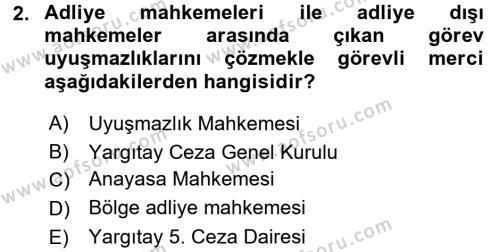 Ceza Muhakemesi Hukuku Dersi 2016 - 2017 Yılı (Final) Dönem Sonu Sınavı 2. Soru
