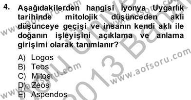 Bilgi Ekonomisi Dersi 2012 - 2013 Yılı (Vize) Ara Sınav Soruları 4. Soru