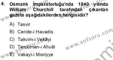 Fotoğrafçılık ve Kameramanlık Bölümü 3. Yarıyıl Toplum ve İletişim Dersi 2014 Yılı Güz Dönemi Tek Ders Sınavı 4. Soru