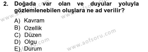 Halkla İlişkiler ve Reklamcılık Bölümü 3. Yarıyıl İletişim Araştırmaları Dersi 2013 Yılı Güz Dönemi Ara Sınavı 2. Soru