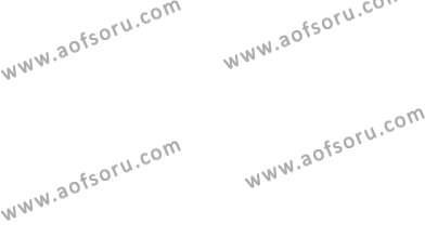 İngilizce Öğretmenliği Bölümü 2. Yarıyıl Bağlamsal Dilbilgisi II Dersi 2013 Yılı Bahar Dönemi Ara Sınavı 1. Soru