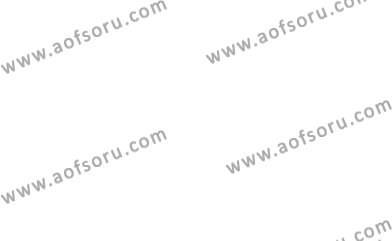 İngilizce Öğretmenliği Bölümü 2. Yarıyıl Bağlamsal Dilbilgisi II Dersi 2013 Yılı Bahar Dönemi Ara Sınavı 2. Soru