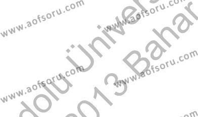 İngilizce Öğretmenliği Bölümü 2. Yarıyıl Bağlamsal Dilbilgisi II Dersi 2013 Yılı Bahar Dönemi Ara Sınavı 3. Soru